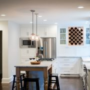 cabinetry design with freestanding island