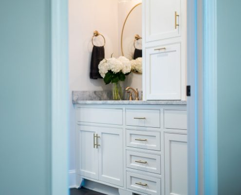 custom bathroom vanity cabinet