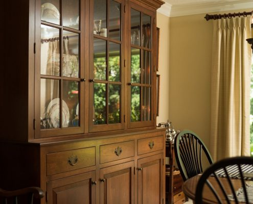 custom cabinetry hutch