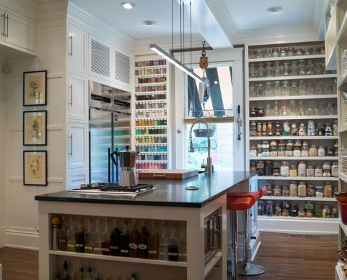 high end functional cabinetry design
