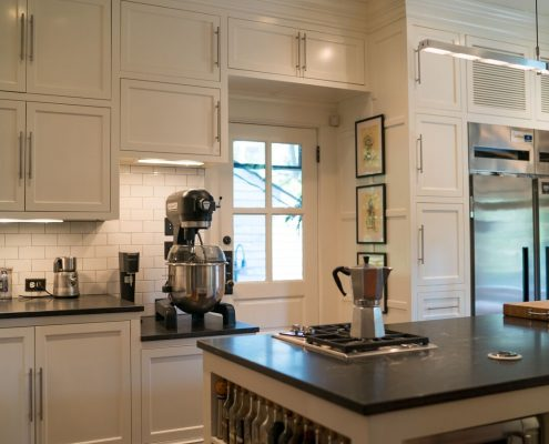 custom cabinetry for residences