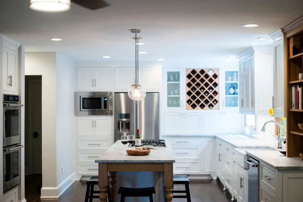 large custom kitchen remodel