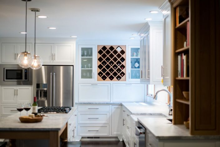 beautiful cabinetry in kitchen remodel