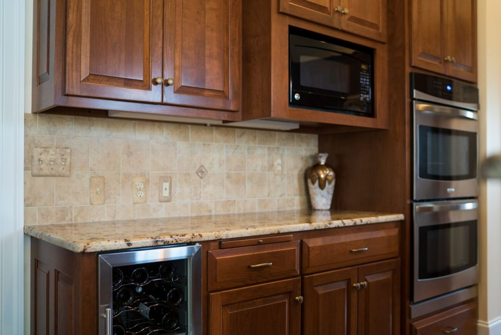 cherry kitchen cabinetry