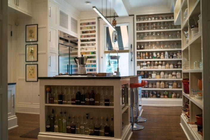 custom prive workspace in pantry