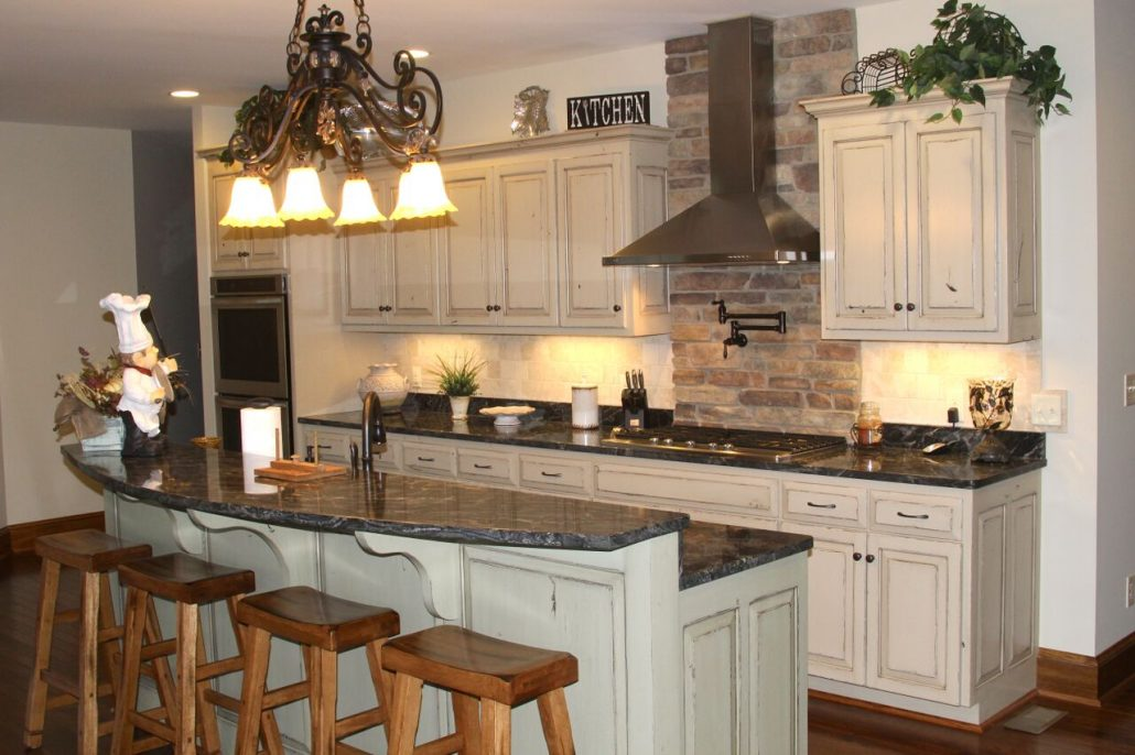 Rustic large scale kitchen