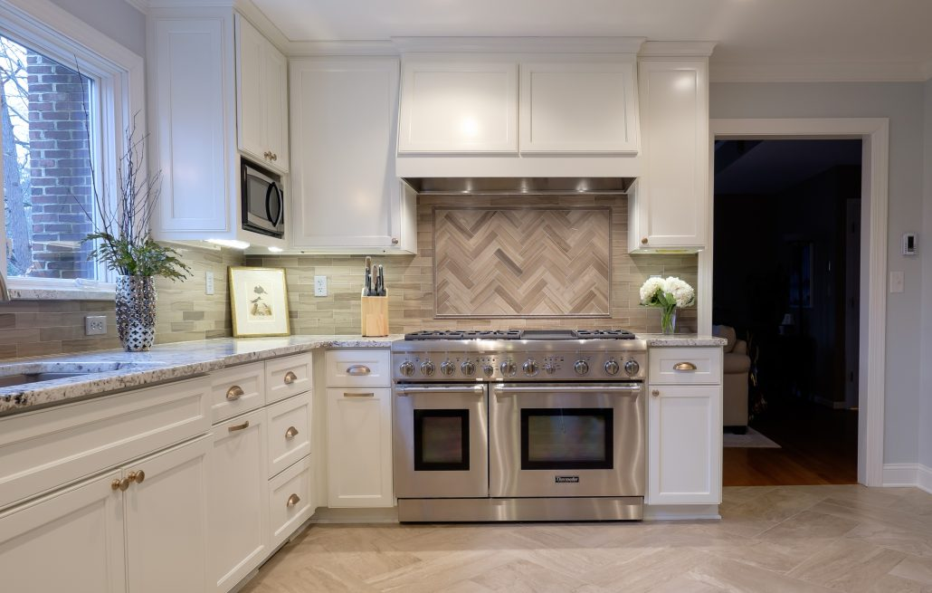 custom kitchen installed