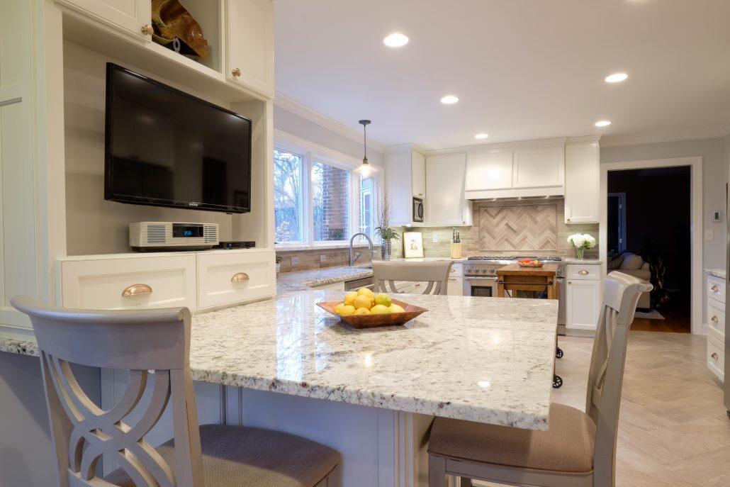 open, functional kitchen
